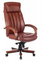 Кресло руководителя Бюрократ T-9922WALNUT светло-коричневый
